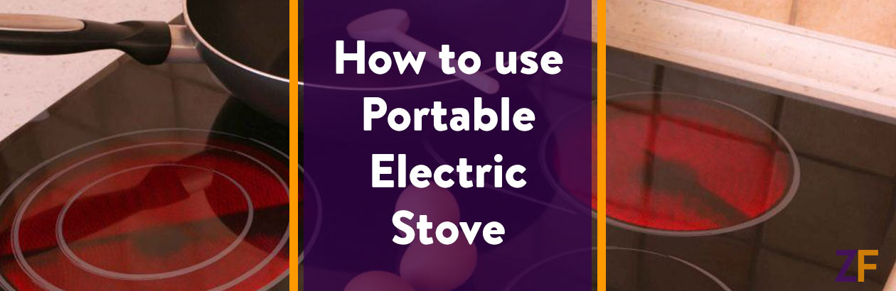 How to use Portable Electric Stove