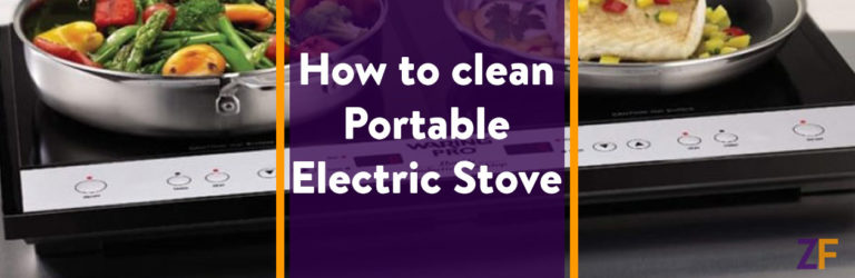 best way to clean Portable Electric Stove