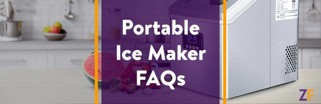 Portable ice maker Frequently asked questions
