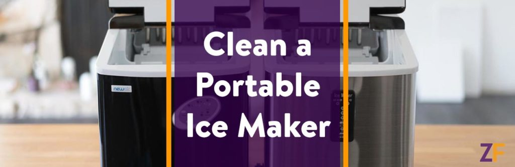 How to clean a portable ice maker