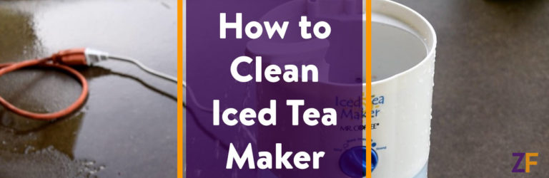 How to Clean Iced Tea Maker