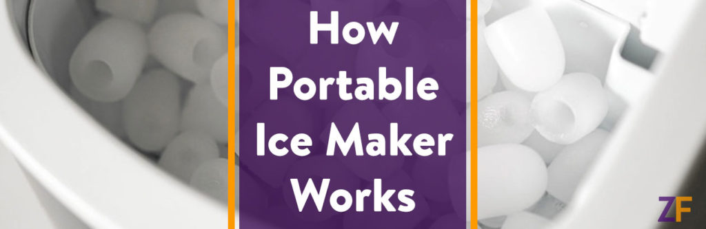 HOw portable ice maker works