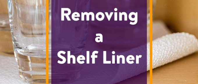 Removing a Shelf Liner