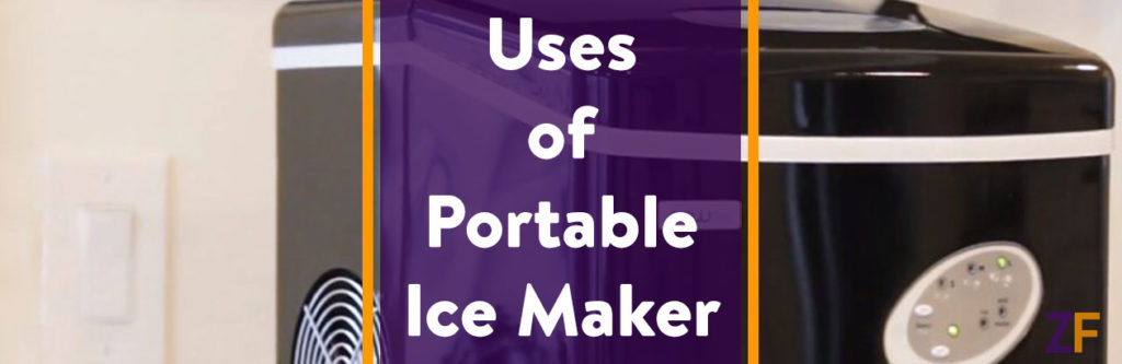 Uses of Portable ice maker