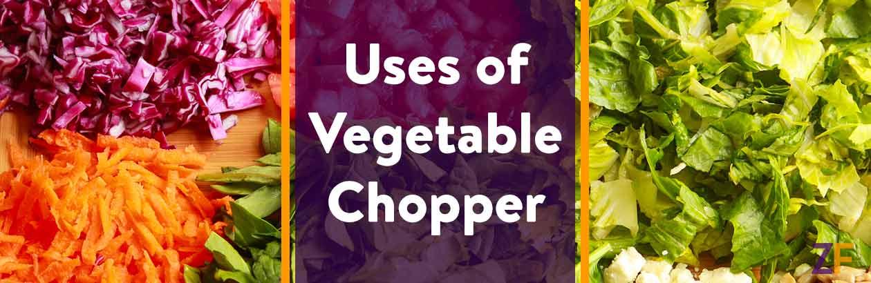 Uses of Vegetable Chopper