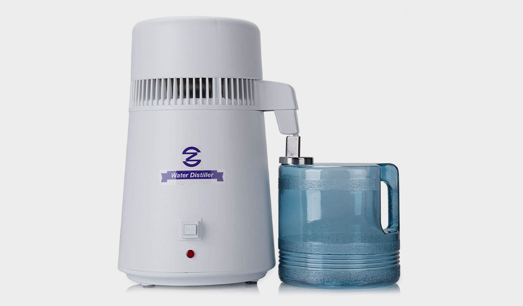 CO-Z 110V 4 Liter Water Distiller for Home Counter Top
