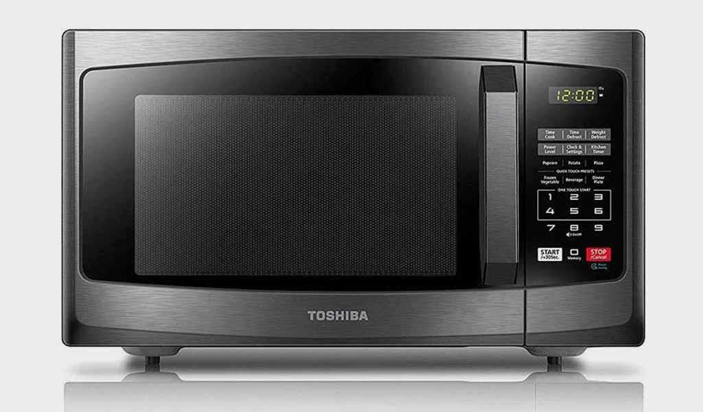Toshiba EM925A5A-BS Small Microwaves