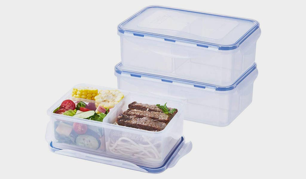 3 Pack Food Storage Containers by LEXINGWARE