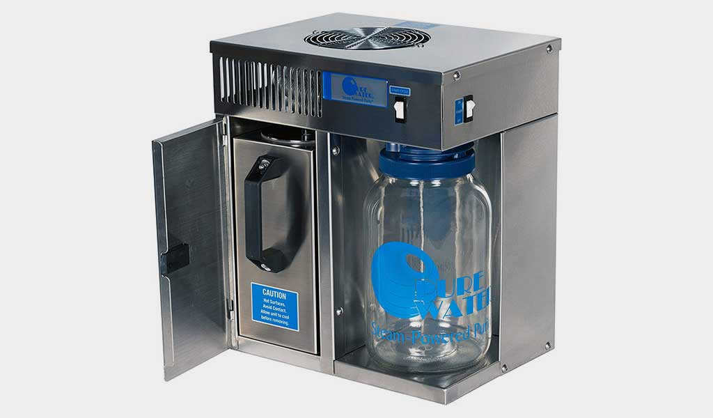 Pure Water Mini-Classic CT Countertop Distiller