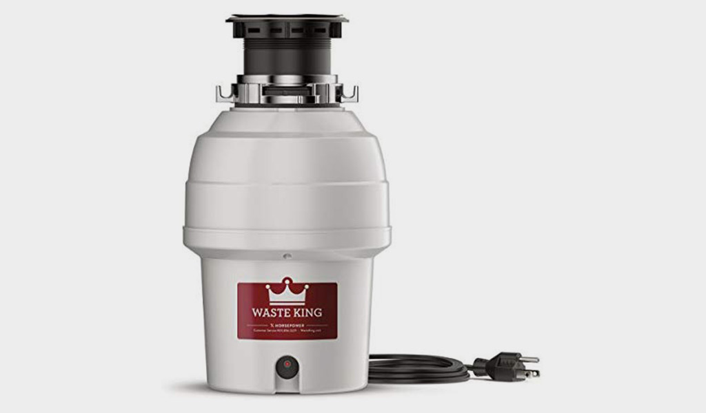 Waste King L-3200 Garbage Disposal With 3/4 HP Motor, and Power Cord