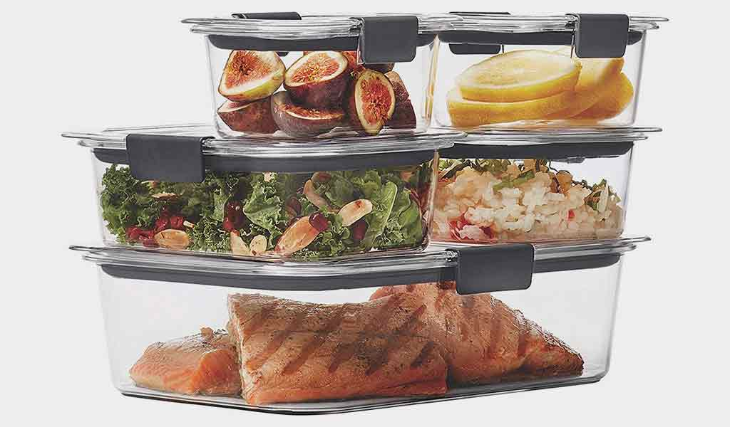 Rubbermaid Brilliance Airtight Container