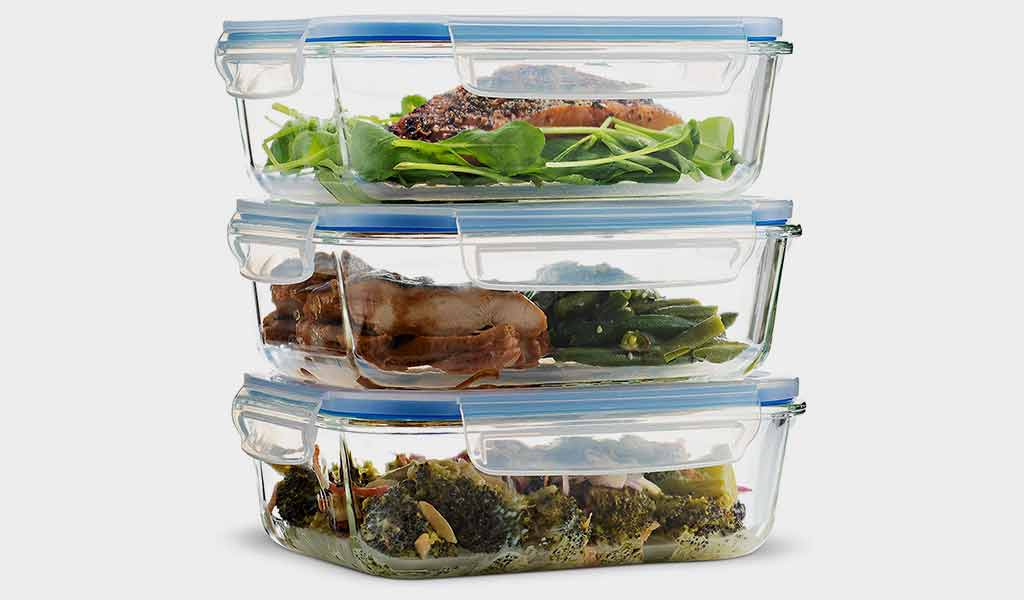 Superior Glass Meal Prep Containers