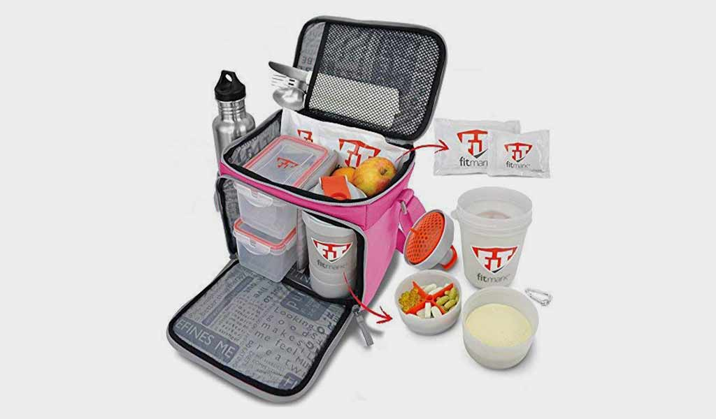 Fitmark Box Meal Prep Insulated Bag