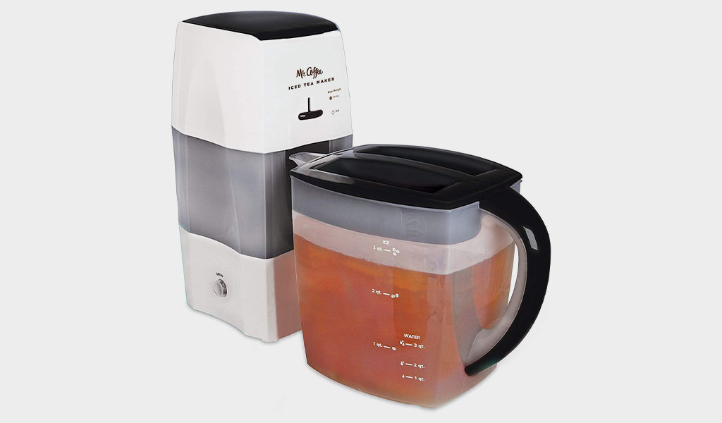Mr. Coffee TM75BK-1 3-Quart Iced Tea and Iced Coffee Maker - Best for large batches