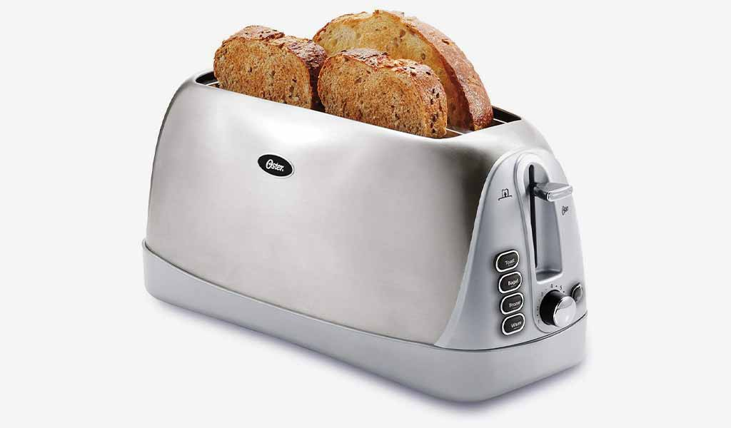 Oster Long Slot 4 Slice Toaster