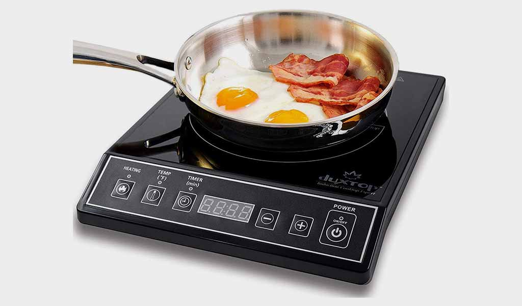 Duxtop 1800W Portable Induction Cooktop Burner