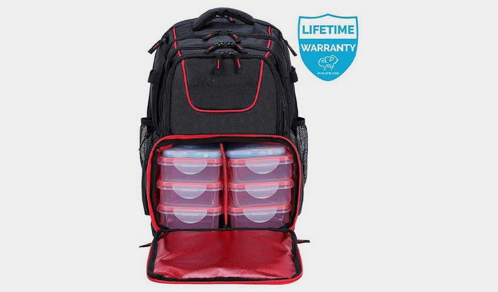 Fitness Meal Prep Backpack