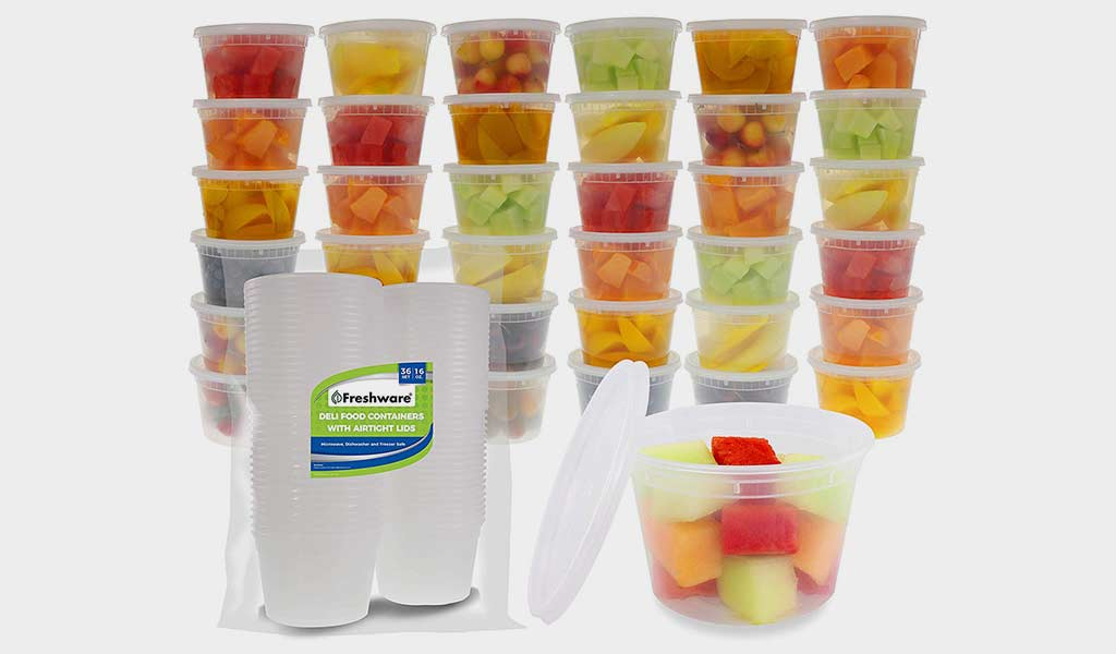 Freshware Food Storage Containers