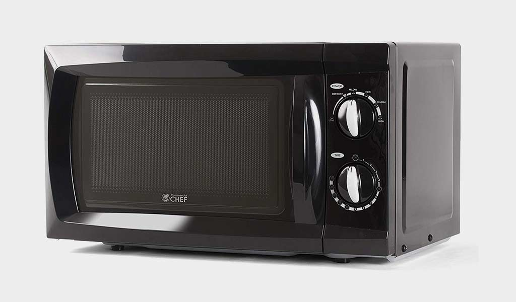 Commercial Chef CHM660B Microwave small Oven