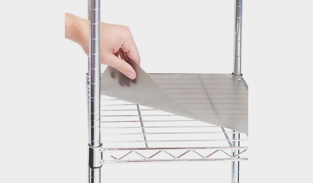 Seville Classics Shelf Liner for Wire Shelves
