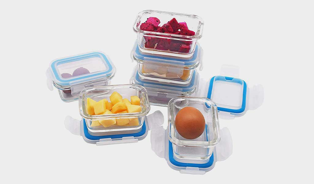 Elacra Baby Food Storage Containers