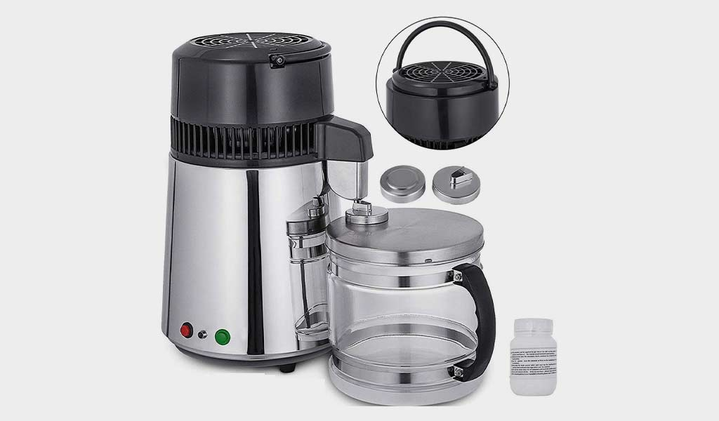 Mophorn Countertop Water Distiller