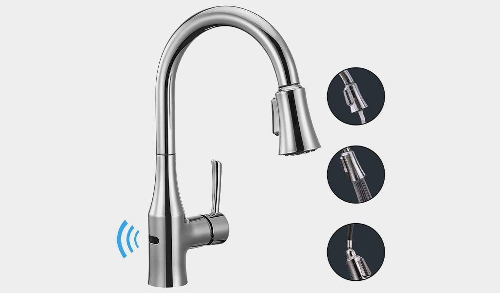 10 Best Touchless Kitchen Faucet Reviews Amp Buying Guide