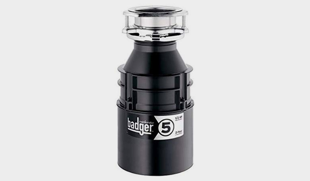 Badger 5-InSinkErator Garbage Disposal with 1/2 HP Continuous Feed