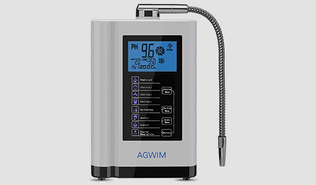 AGWIM Alkaline Water Ionizer Machine