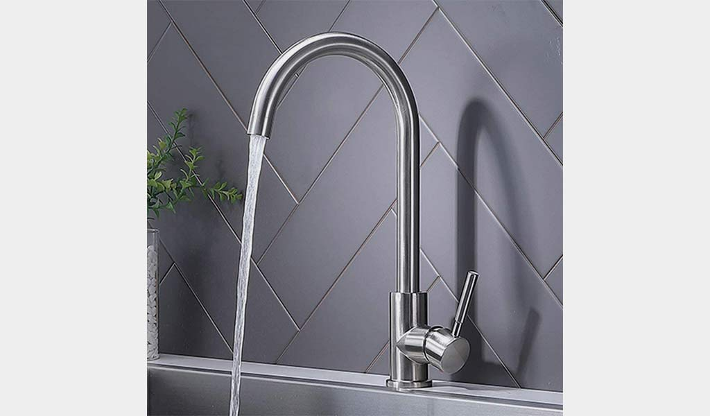VAPSINT Modern Hot and Cold Mixer Kitchen Faucets