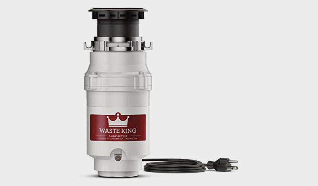 Waste King L-111 Garbage Disposal with 1/3 HP Motor and Power Cord