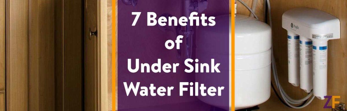 Benefits of Under Sink Water Filter