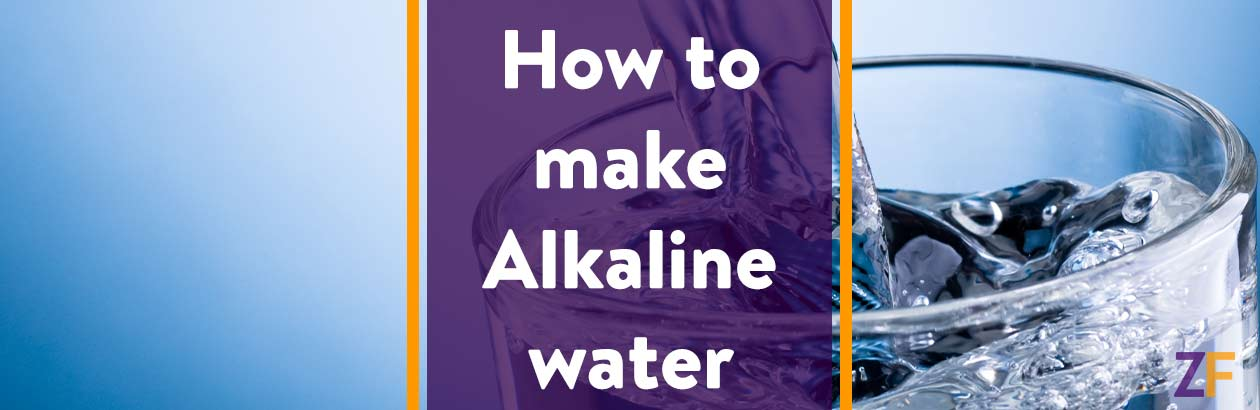How to make alkaline water