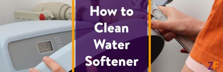 How to clean water softener